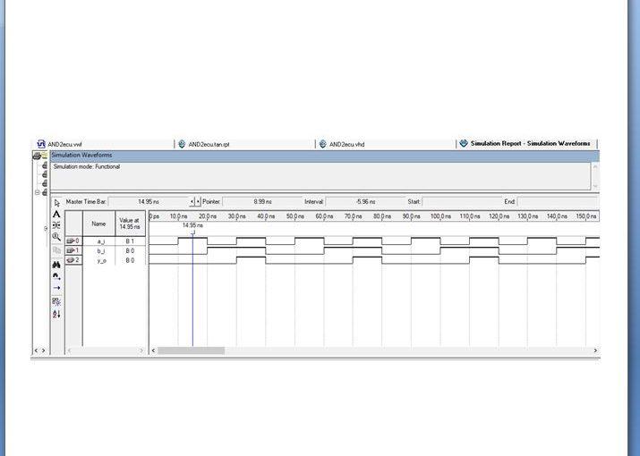 Lección 1.V2. Compilación y simulación de la compuerta AND de 2 entradas.