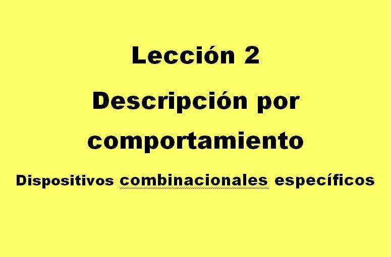 Lección 2.V7. Descripción de un decodificador de 3 a 8 con habilitación.