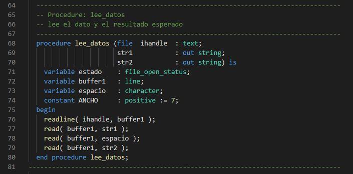 Lección 17.V119. Testbench. Uso de procedimientos. Declaración en package. Diferencias con las funciones.